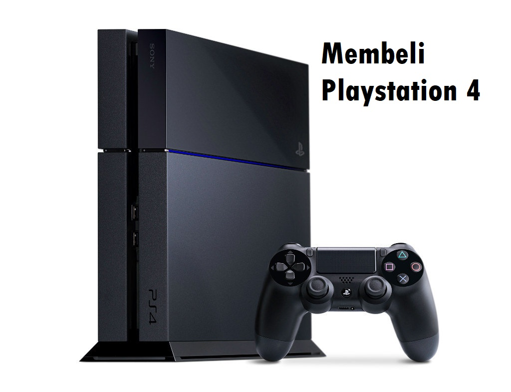 Membeli Playstation 4